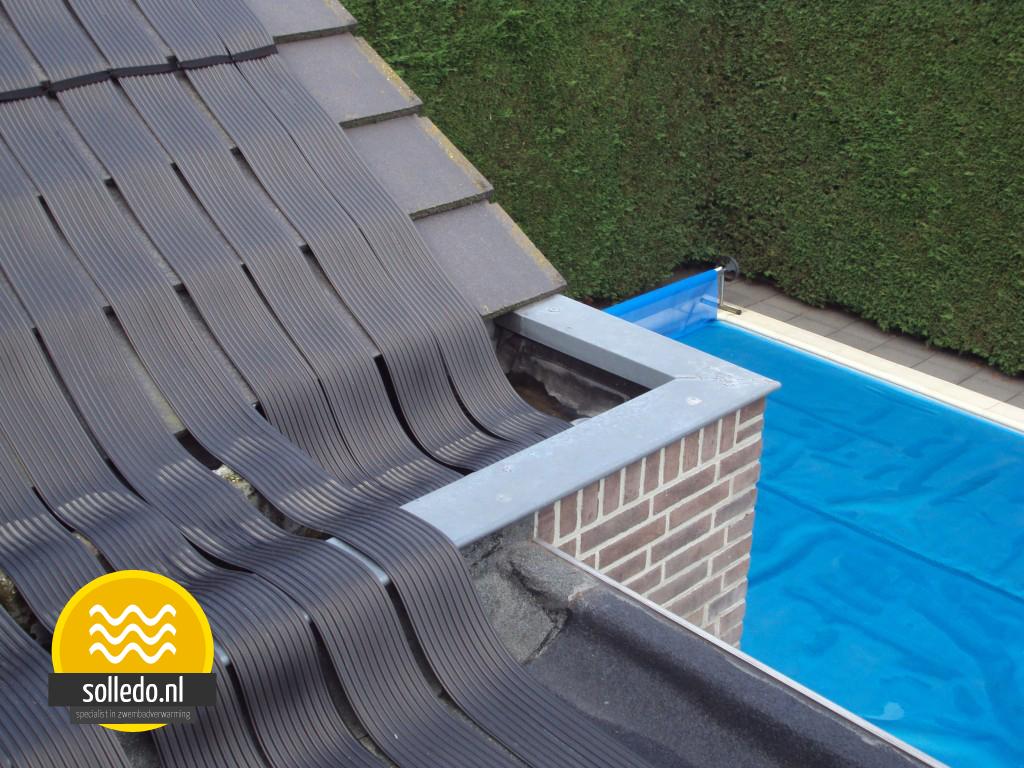 zwembadverwarming van solledo zonnecollectoren voor 36